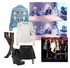 """""""Interviewsss"""" by wont-stop-loving-queen-rydel ❤ liked on Polyvore featuring moda y Express"""