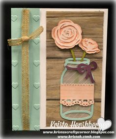 Close to my Heart, CTMH, Flower Market Cricut collection, 5x7 embossing folder, Rustic Home Fundamentals, Charlotte