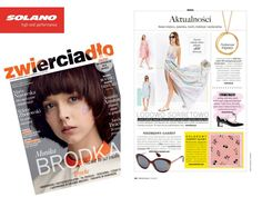 Zwierciadło Magazine #press #magazine #shopping #eyewear