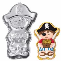this pirate cake from wilton looks promising.now to find the pan in a week! Pirate Boy, Pirate Theme, Pirate Party, Wilton Cake Decorating, Cake Decorating Supplies, Pirate Birthday, Birthday Ideas, Birthday Parties, Cake Supplies