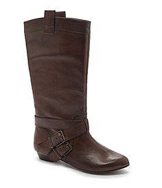 Gianni Bini Faithh Harness Riding Boots #Dillards