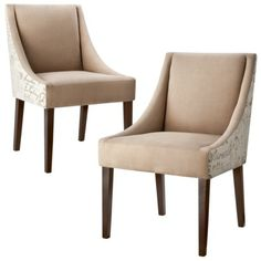 Cutback Dining Chair Cappuccino Script These are a must for my dining room!!!