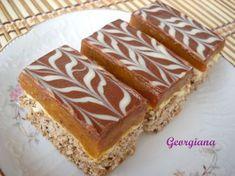 Este o prăjitură care îmi place mult și pe care o pregătesc destul de des. Pt. blat avem nevoie de: 6 albușuri; 200...