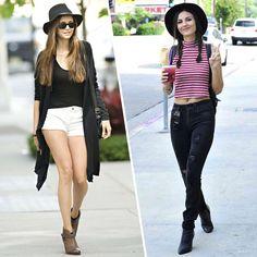 Nina Dobrev e Victoria Justice são twin sisters.