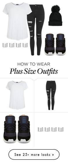 """Adidas"" by kyla-figgs on Polyvore featuring Forever 21, Topshop, adidas and Maison Margiela"
