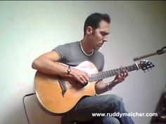 U2 Sunday Bloody Sunday Acoustic Fingerstyle  - Ruddy Meicher