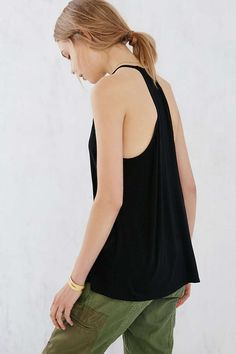 Kimchi Blue Lola High-Neck Cami - Urban Outfitters