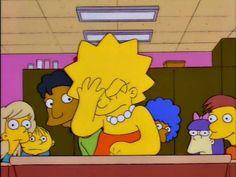 New Memes Apaixonados Lisa Ideas The Simpsons, Meme Dos Simpsons, Simpsons Quotes, Cartoon Edits, Cartoon Quotes, Cartoon Icons, Cartoon Wall, Cartoon Drawings, Cartoon Characters