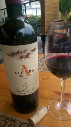 Altura 2007. From Casa Silva winery comes this excellent Chilean wine. Needs some time to open but it's worth the wait.
