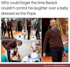 Who Could Forget The Time Barack Couldn't Control. ~ Memes curates only the best funny online content. The Ultimate cure to boredom with a daily fix of haha, hehe and jaja's. Stupid Funny, Funny Cute, Really Funny, Funny Stuff, Random Stuff, Dankest Memes, Funny Memes, Jokes, Haha