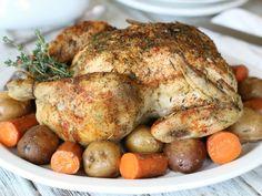 Rotisserie Style Chicken CU Plated