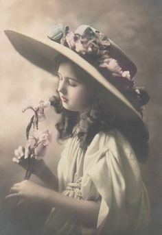 Lovely soft hand tinted