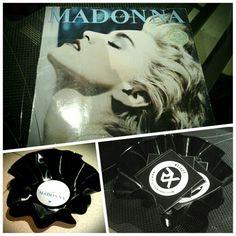 Diy avec un vinyle de madonna ;)