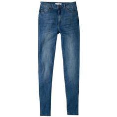 Mango Soho Skinny Jeans , Light Blue (3.545 RUB) via Polyvore