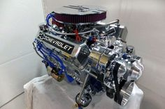 hot chevy motors | Engine Factory Complete 350 Chevy Turn Key Engine | Hotrod Hotline