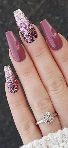 cute and cool summer nails designs ideas and pictures - page 11 of 56 - daily . - Sweet and Cool Summer Nails Designs Ideas and Pictures – Page 11 of 56 – Daily … – – - Summer Acrylic Nails, Best Acrylic Nails, Cute Nail Designs, Acrylic Nail Designs, Hair And Nails, My Nails, Glitter Nails, Purple Nails, Neon Nails