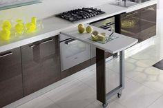 44 Best Small Kitchen Design Ideas for Your Tiny Space Small Kitchen Remodel Design Ideas Kitchen Small Space Tiny Smart Kitchen, Small Kitchen Storage, Diy Kitchen, Kitchen Decor, Kitchen For Small Spaces, Kitchen Ideas, Compact Kitchen, Small Rooms, Küchen Design