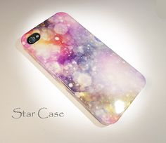 Pastel iPhone 4/ 4s and 5 Case - Cell Phone Cover -  Shine iPhone 4 5 Hard Case- iPhone 5 Cover - Pretty  Girly Cute Fashion Glitter. $19.99, via Etsy.
