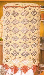 Capa para galão de água, link dos gráficos: http://crochesartesanatosvanda.blogspot.com.br/2015/11/capas-de-galao-de-agua-em-croche-com.html