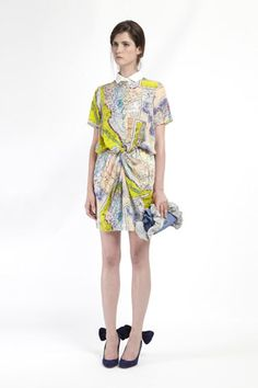 carven resort 2012. This was the only dress I saw in Paris that I LOVED