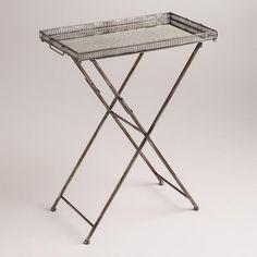 $99 One of my favorite discoveries at WorldMarket.com: Rectangular Venetian Butler Tray