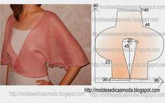 PASSO A PASSO MOLDE DE CASACO Corte um retângulode tecido com a altura e largura que pretende para as costas efrentes neste caso é 0,90 cm por 0,90 cm. D