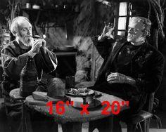 """Bride of Frankenstein~Horror~Karloff~Blind Man~Hermit~Photo~ Poster 16"""" x  20"""""""