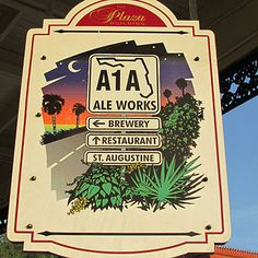 Destination: Beer - The Best Coastal Breweries for the Perfect Summer Road-Trip - pictured: Ale Works in St. Visit Florida, Florida Vacation, Florida Travel, Palm Coast, Sunshine State, Weekend Getaways, Brewery, Places To See, Road Trip