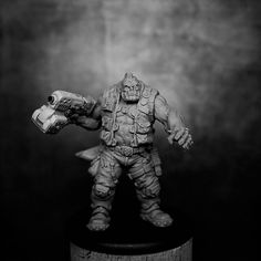 Sculptor: Luc 'Thantor' Pinganaud Scale: 35mm Size: 43mm to eye level (48mm to top of hair) Number of Parts: 4 Material: Resin Casting: GRX Creations   Supplied in a grip seal bag with a 40mm round plastic base   All our miniatures are supplied unpainted and require assembly. The painted examples are for inspiration only.   Warning : This is not a toy! Recommended for ages 14 and over. May be harmful if chewed or swallowed