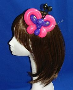 Butterfly Balloon Fascinator By Twistina