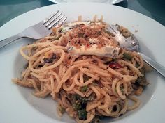 Spaghetti with Chilli-Rosemary-Crumbs, Martin S. Martin S, Spaghetti, Ethnic Recipes, Food, Cooking, Essen, Meals, Yemek, Noodle