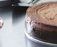 Vegan Chocolate Cheesecake Recipe at Epicurious.com