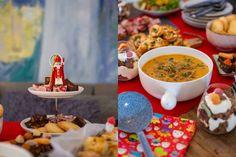 Het grote sinterklaasbuffet voor pakjesavond - Francesca Kookt A Food, Cereal, Snacks, Cooking, Breakfast, Party, Xmas, Kitchen, Morning Coffee