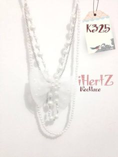 pearl necklace IDR 40.000