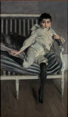 Giovanni Boldini Ritratto del piccolo Subercaseaux 1891 olio su tela Ferrara, Museo Giovanni Boldini