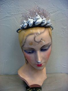 Sea Fan Coral Shell Beach Wedding Mermaid Ariel Tiara Crown | eBay