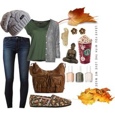 """Fall"" by laceycanbreathe on Polyvore"
