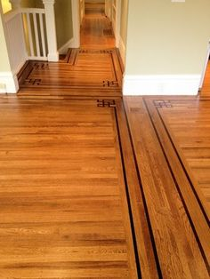 I Love The Transition From The Wood To The Laminate Home Ideas - Hardwood floor transition