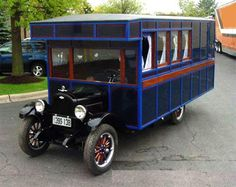 1925 Chevrolet House Car.   Here's a classic 1925 Chevrolet house Car. You may not remember this one (if you do, we'd like to interview you!). A proto-type, this rig had maple flooring and looked swell rolling down the back roads of its day.