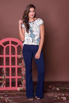 #debrummodas #coleção #calça #blusa #estampada #modafeminina #moda #fashion #style #estilo