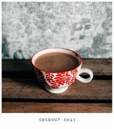 Winter delish. Rich coconut chai
