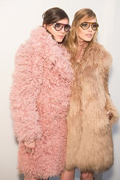 Backstage at Gucci Autumn 2014. MATCHESFASHION.COM #MATCHESFASHION