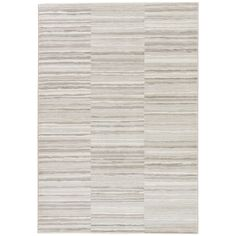 Juniper Home Vermilion Stripe Gray/ Taupe Area Rug (2' X 3') (BRG135632), Grey, Size 2' X 3' (Polypropylene, Abstract)