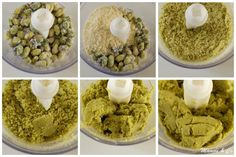 Mini Desserts, Dessert Recipes, Macaron Pistache, Dessert Aux Fruits, Lemon Curd, Nut Butter, Base, Macarons, Biscuits