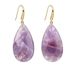 Lola Rose Airlie Lavender Amethyst Earrings and other stunning jewellery and gifts. Statement Earrings, Drop Earrings, Lola Rose, Rose Gift, Rose Jewelry, Amethyst Earrings, Stone Beads, Hooks, Lavender