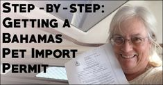 Wondering how people cruise with a dog, going from country to country? Step by step instructions to get a Bahamas pet import permit, which your furry friend needs in order to accompany you there.