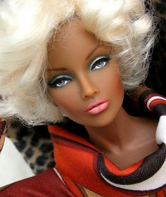 Doll - she kind of reminds me of Keri Hilson