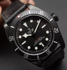 """#Baselworld2016: @TudorWatch Heritage Black Bay Dark Watch Hands-On - by @ABTW_Patrick - see the hands-on pictures video with the whole collection & read more: http://ift.tt/1WzUOP2 """"For Baselworld 2016 Tudor has released some lust-worthy pieces from their Heritage Black Bay line like the all-new Bronze model (hands-on here) and this all-black Tudor Heritage Black Bay Dark watch which also has the brand-new in-house MT5602 movement. Brooding cool looks and this in-house movement are going to…"""