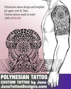 samoan polynesian tatoo, tribal tattoo template, juno tattoo designs