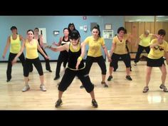 """Bidi-Bidi Bom-Bom"" Remix. DJ Fabian--love this gals choreo--Zumba love. Totally need to check out more of her videos"